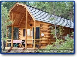 Log Cabin Rentals, Williams Lake Vacation Rental