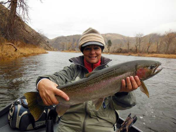 Fall Steelhead Fishing, Idaho fishing