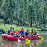 Salmon River Float Trips, Smooth