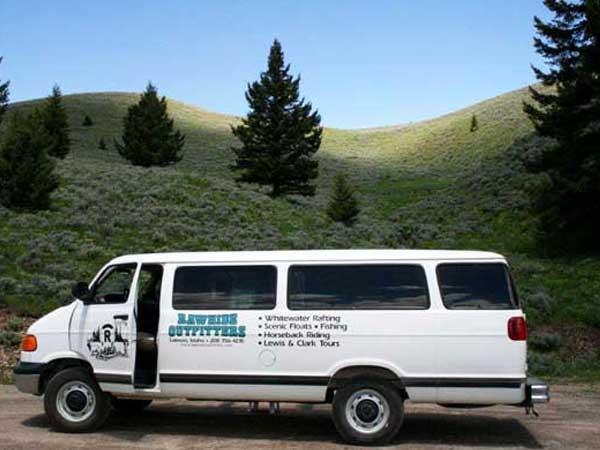 Lewis & Clark Van Tours, Idaho