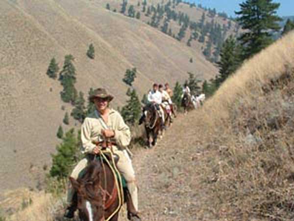 Horseback riding, Lewis & Clark trails