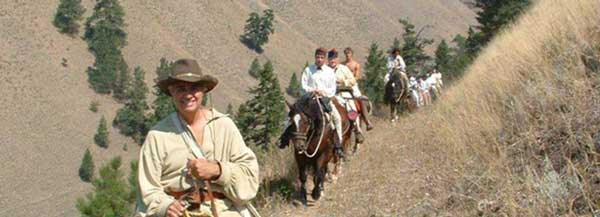 Lewis Clark Horse Trail Rides