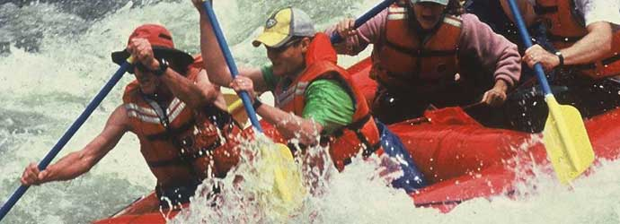 multi-day trips, whitewater rafting