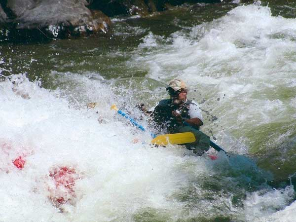 Whitewater Rafting, Salmon River