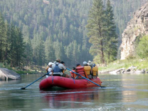 Salmon River rafting trips