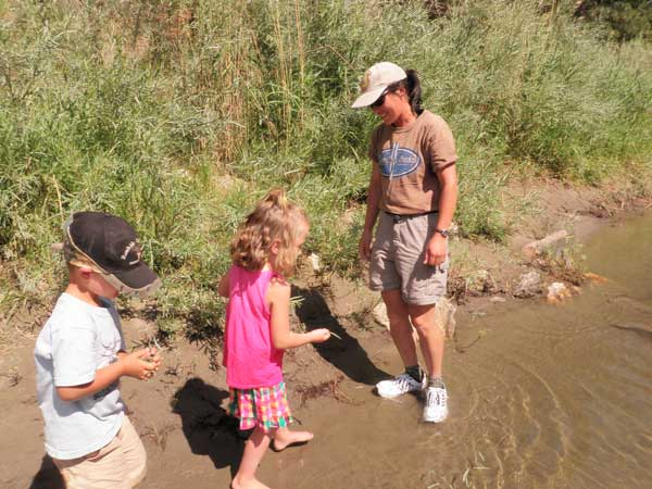 Kids on Salmon River
