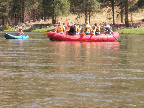 Salmon River Float Trips