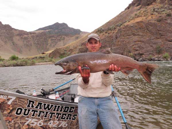 Salmon Fishing in Idaho