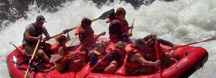 Salmon River, Whitewater Rafting