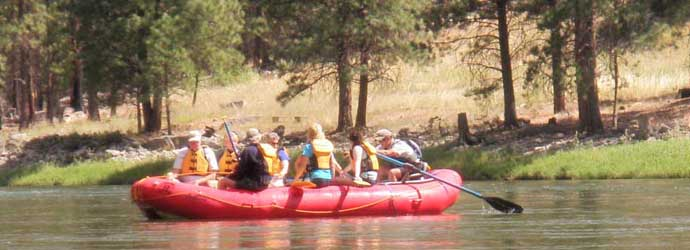 Salmon River Float Trips Idaho