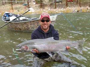Steelhead Fishing, Rawhide Outfitters
