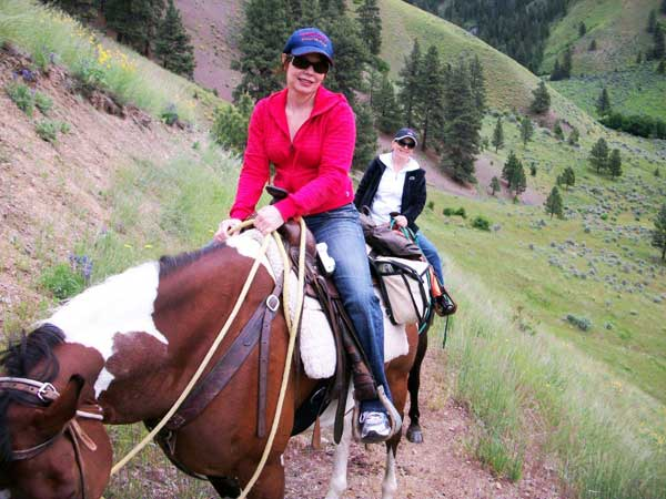 Idaho hroseback riding guides