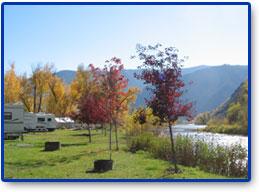 Wagonhammer RV Park, North Fork Idaho