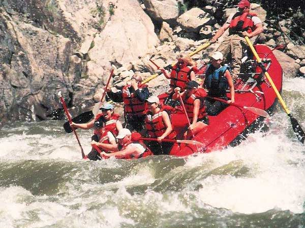 Idaho white water river rafting