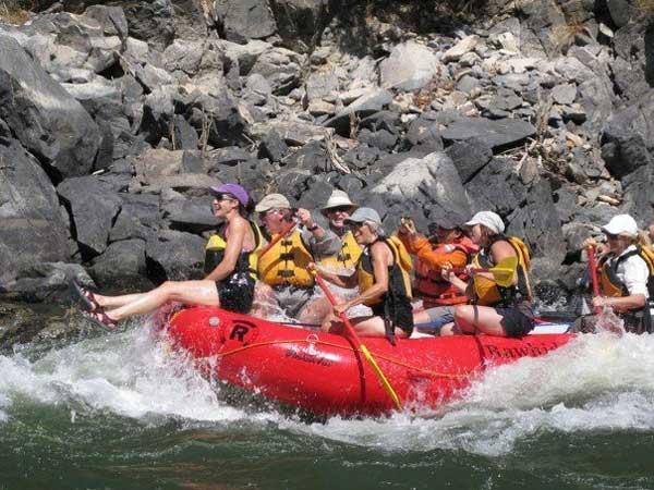 Idaho Family Vacations, River Rafting Trips
