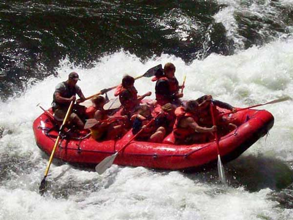Whitewater River rafting on Salmon River