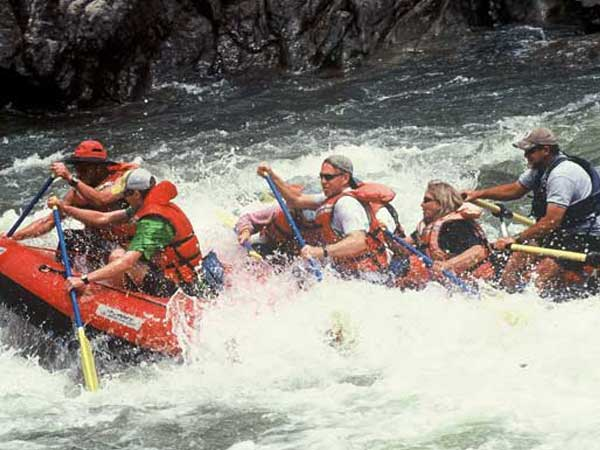 White Water Rafting Group Trips